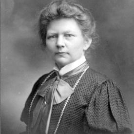 Frk. Kathrine Jensen, byrådsmedlem 1909-13 og 1917-25.
