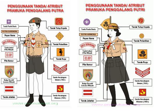 pakaian seragam pembina