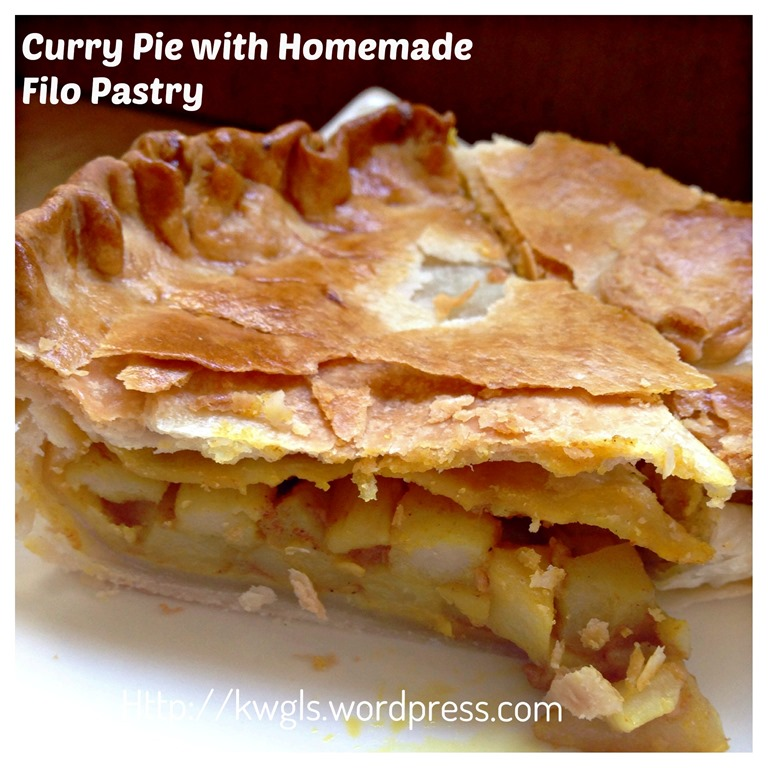 how to make homemade pies with puff pastry