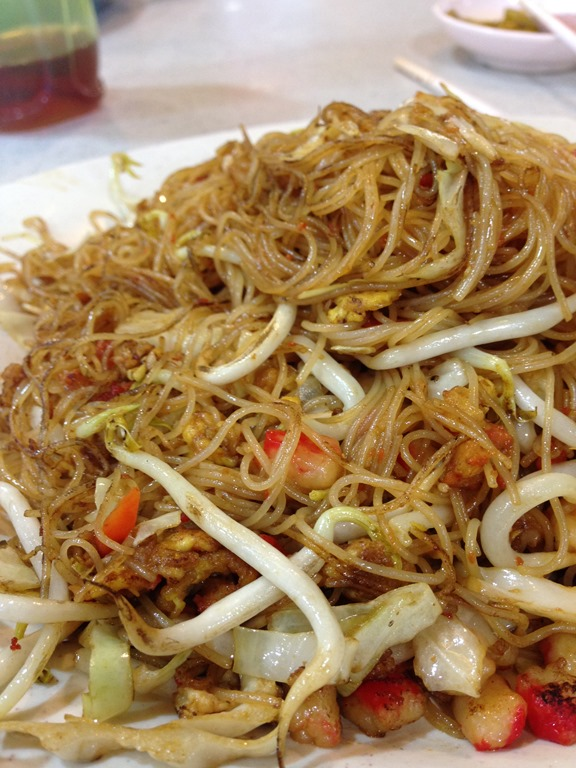Fried Bee Hoon (Singapore Noodles) Recipe — Dishmaps