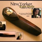 The New Yorker Pipe with Kyle Style from Pipes by Tia