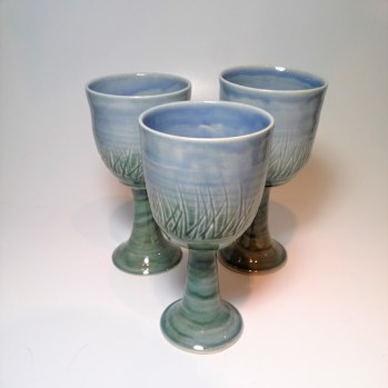 8 oz wine goblets