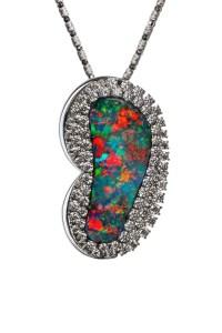 Boulder Opal Pendant / Brooch ATM42