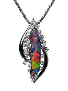 Boulder Opal Brooch/Pendant BC6228