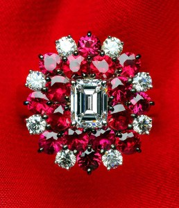 Ruby & Diamond Ring BC4742