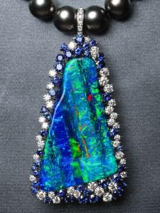 Boulder Opal Pendant ATM019N