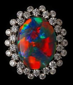 RARE Black Opal Ring AT123