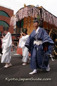 Parade procession Aoi Matsuri