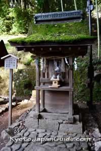 Small shrine at Ujigami-jinja