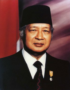 According to Inside Indonesia, Suharto kept the oligarchs in order.