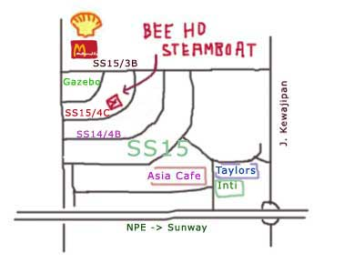 Bee Ho Steamboat Restaurant at SS15