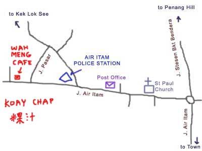 Koay Chap at Air Itam, Penang