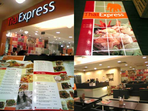 Thai Express at the Curve