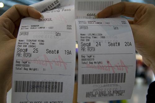 Air Asia random seat assignments