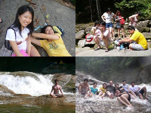 Chamang Waterfall at Pahang