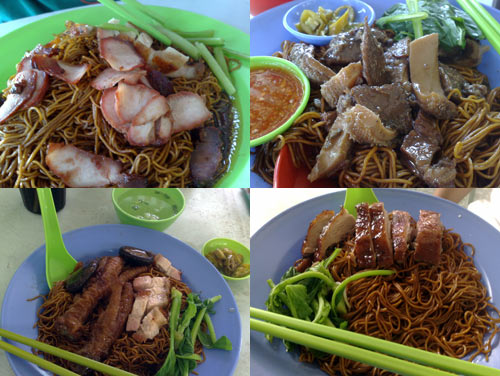 Restaurant Chong Loy, beef  and char siu mee