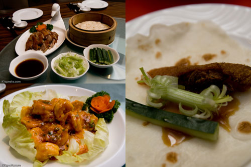 aromatic duck, sichuan prawn, Dragon-i at KL Pavilion