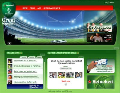 Heineken UEFA Champion Leagues