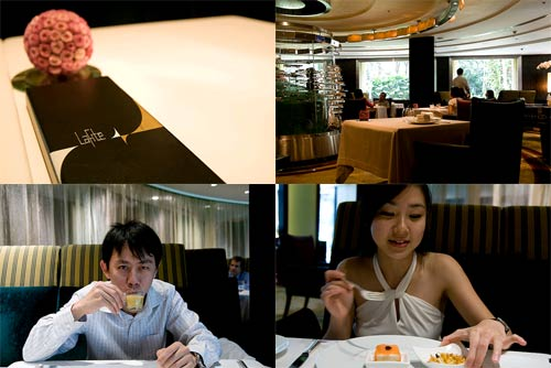 Showcase lunch at Lafite, Shangri-La
