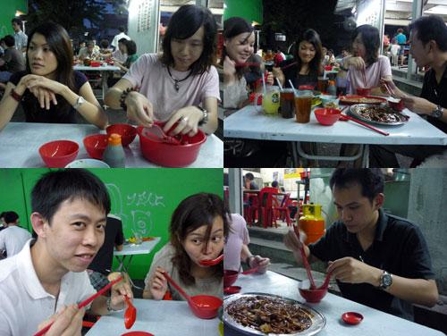 Lala at Mei Yun, taman paramount
