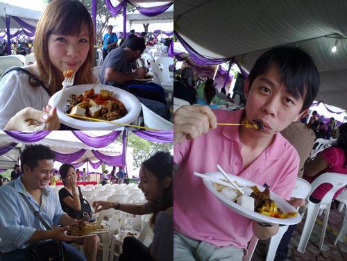 cheesie, kenny, laine, jacklyn, KY at PM's hari raya open house