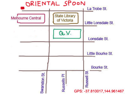 Map to Oriental Spoon