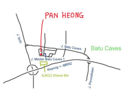 Wat Tan Hor Pan Heong at Batu Caves