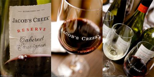 Jacob's Creek Wine at Tykoh Inagiku