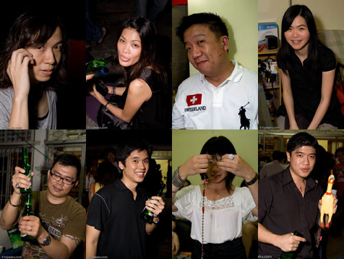KY's xmas eve party 2008