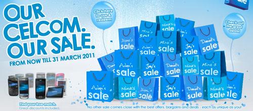 celcom sales