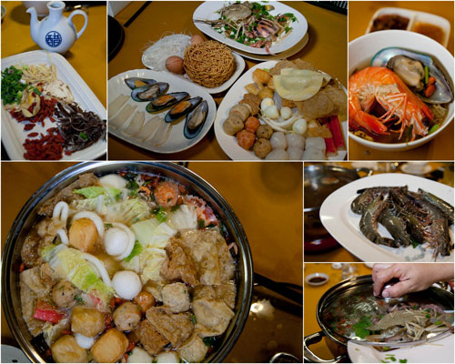 damansara village steamboat with herbal soup
