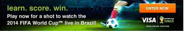 win a trip to world cup 2014