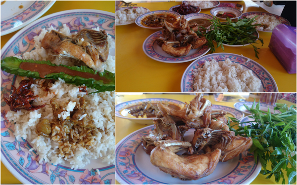 such a lovely lunch, thank you Lukman for bringing me there