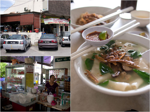 Hock Thai restaurant, at the less glamourous area of SS 2