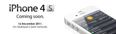 Celcom iPhone 4s