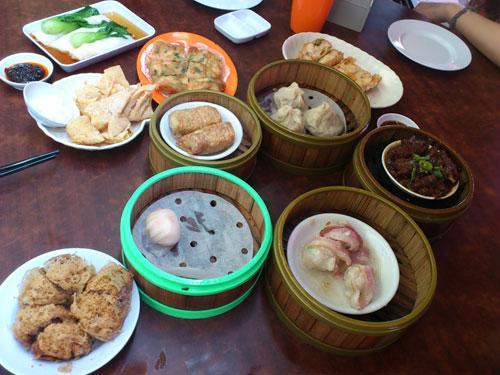 dim sum goodness at Jin Xuan