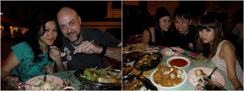 Kim, Gareth, Jojo, KY, and Cheesie