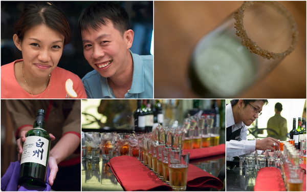 Haze, KY, and our parting drinks - sake bomb