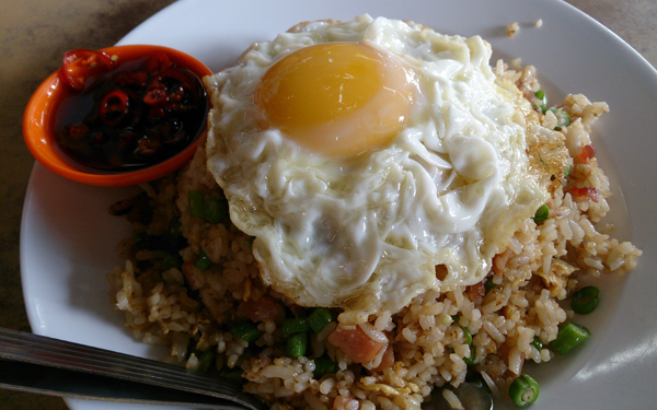their fried rice is pretty good too