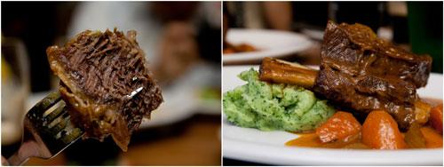 Guinness infused beef ribs, sooo good!