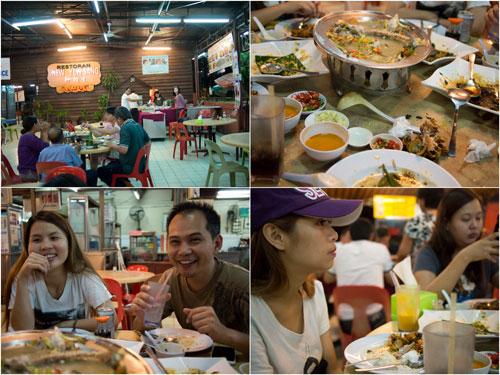 New Yew Sang Thai Food with Yuki, Horng, Ring, Kerol