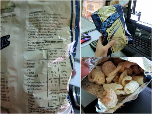 Pork Krackles from Gold Medal Snackfoods