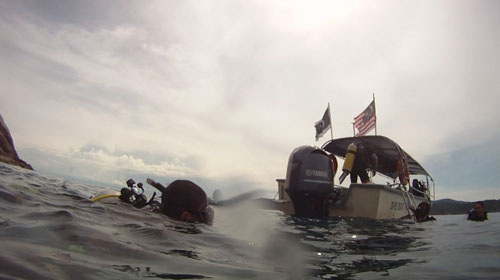 Diving at Redang Island