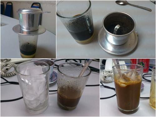 1/4 condensed milk, 3/4 coffee, 100% ice = win