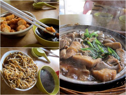 glorious bak kut teh, yau char kuai, and inoki mushroom