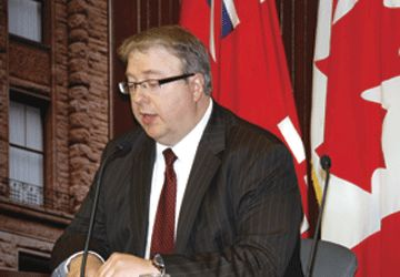 Le commissaire aux services en français de l'Ontario, François Boileau
