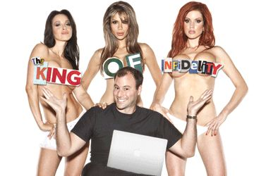 Noel Biderman, patron du site Internet Ashley Madison. Malgré les apparences, l'homme se dit heureux dans son mariage.