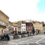 La ville de Brasov, en Transylvanie.