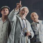 Guy Mignault, Michel Dumont et Marc Legault dans Les Héros.