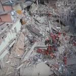 Les dégâts du séisme en Italie vus par un drone.